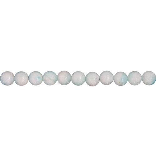 Amazonite Line - 6 mm Bead