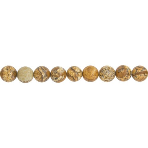 Landscape Jasper Line - 10 mm Bead