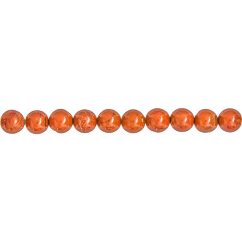 Red Jasper Line - 8 mm Bead