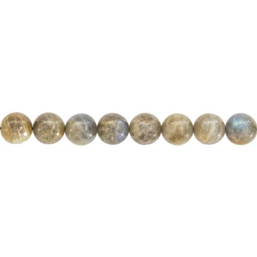 Labradorite Line - 12 mm Bead