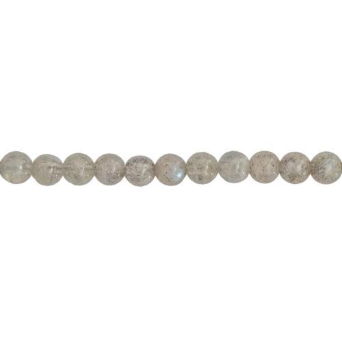 fil labradorite pierres boules 6mm