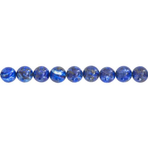 Lapis Lazuli Line - 10 mm Bead