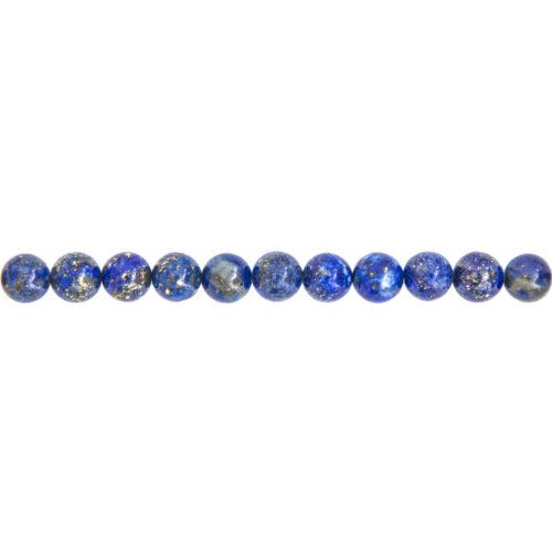 Lapis Lazuli Line - 6 mm Bead