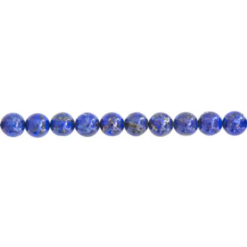 Lapis Lazuli Line - 8 mm Bead