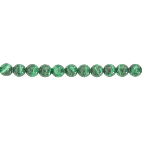 Malachite Line - 6 mm Bead