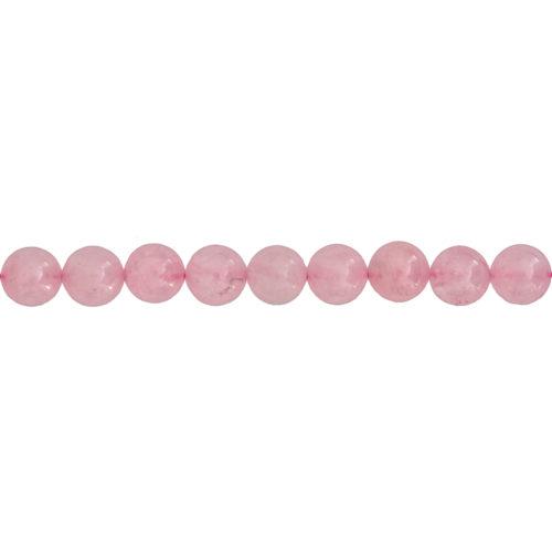 Rose Quartz Line - 10 mm Bead