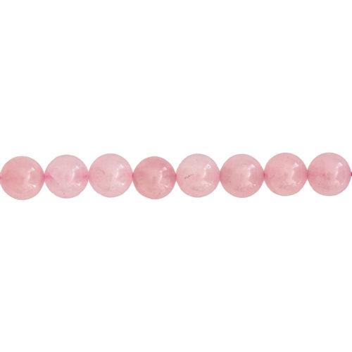 Rose Quartz Line - 12 mm Bead