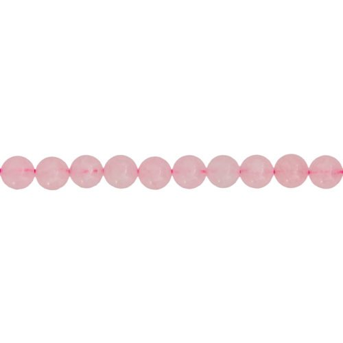 Rose Quartz Line - 8 mm Bead