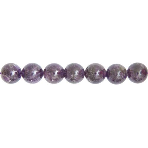 Amethyst Line - 14 mm Bead
