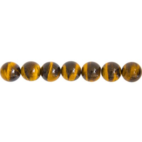 Tiger's Eye Line - 14 mm Bead