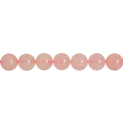 Rose Quartz Line - 14 mm Bead