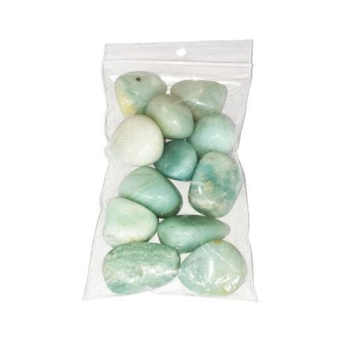 Amazonite Tumbled Stone - 250 g