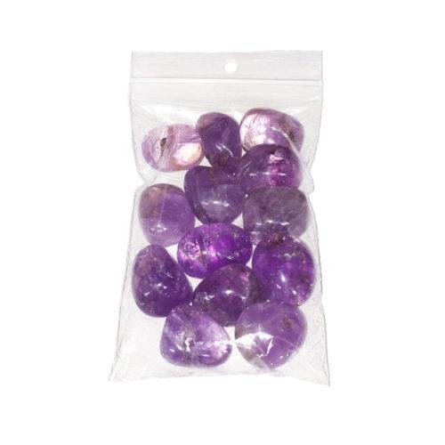 Amethyst Tumbled Stone - 250 g