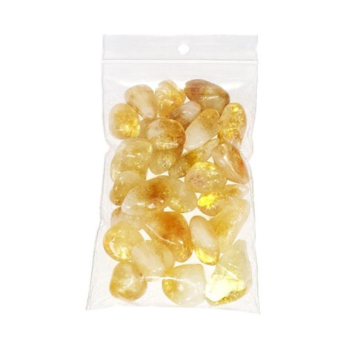 Citrine Tumbled Stone - 250 g
