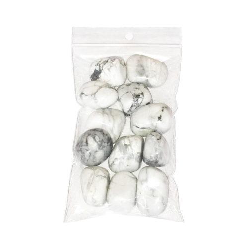 Howlite Tumbled Stone - 250 g