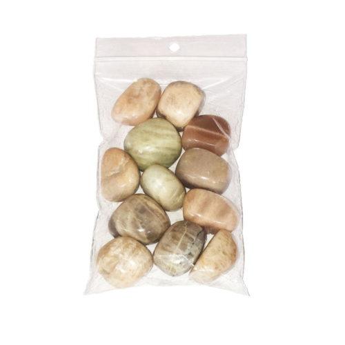 Moonstone Tumbled Stone - 250 g