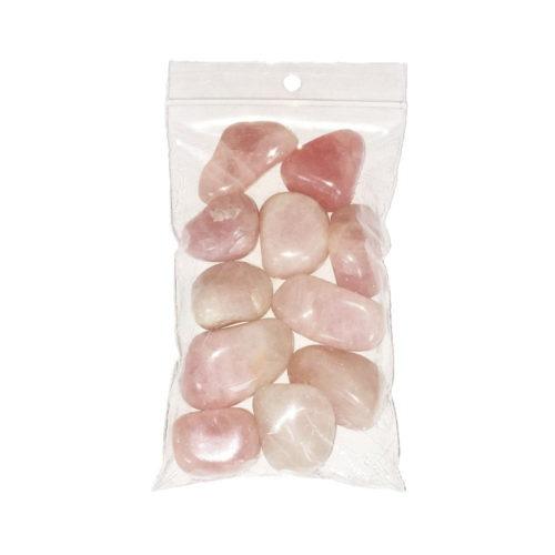 Pink Quartz Tumbled Stone - 250 g