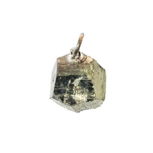 pendentif pyrite de fer pierre brute
