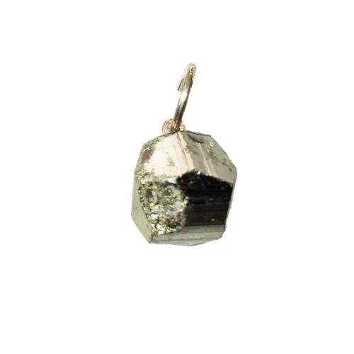 Iron Pyrite Pendant - Raw Stone