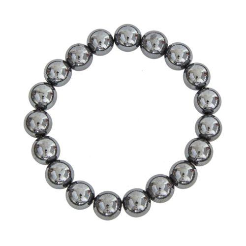 Haematite Bracelet - 10 mm Bead