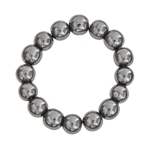 Haematite Bracelet - 12 mm Bead