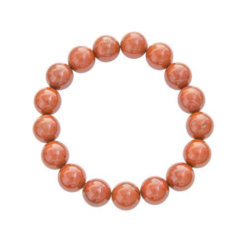 Red Jasper Bracelet - 10 mm Bead