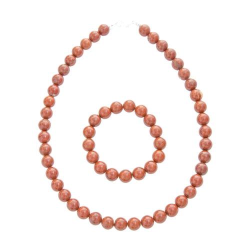 Red Jasper Gift Set - 10 mm Bead