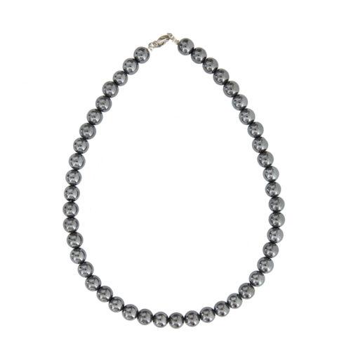 Haematite Necklace - 10 mm Bead
