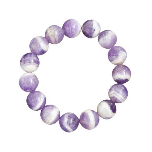 Amethyst Bracelet - 12 mm Bead