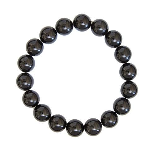 Black Tourmaline Bracelet - 10 mm Bead
