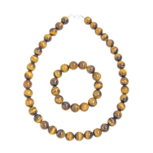 Tiger's Eye Gift Set - 12 mm Bead