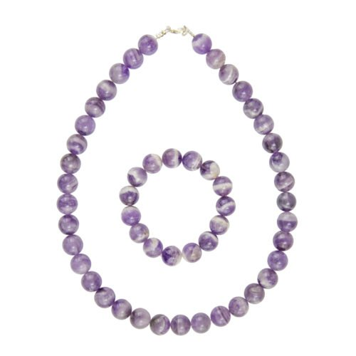 Amethyst Gift Set - 12 mm Bead