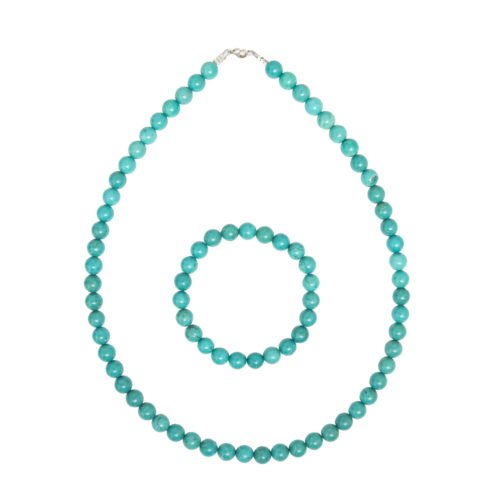Turquoise Gift Set - 8 mm Bead