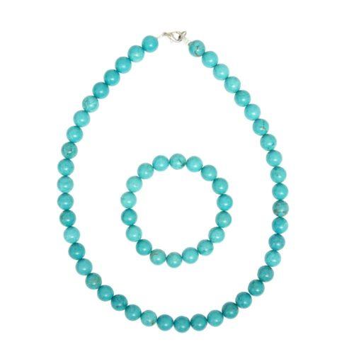 Turquoise Gift Set - 10 mm Bead