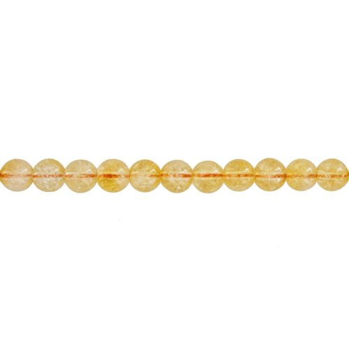 Citrine Line - 6 mm Bead