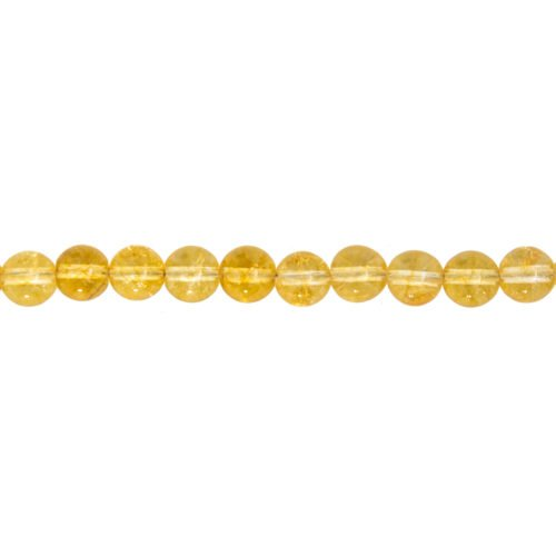 Citrine Line - 8 mm Bead