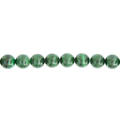 Malachite Line - 12 mm Bead