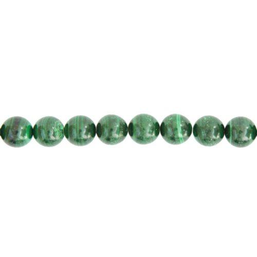 Malachite Line - 12 mm Bead