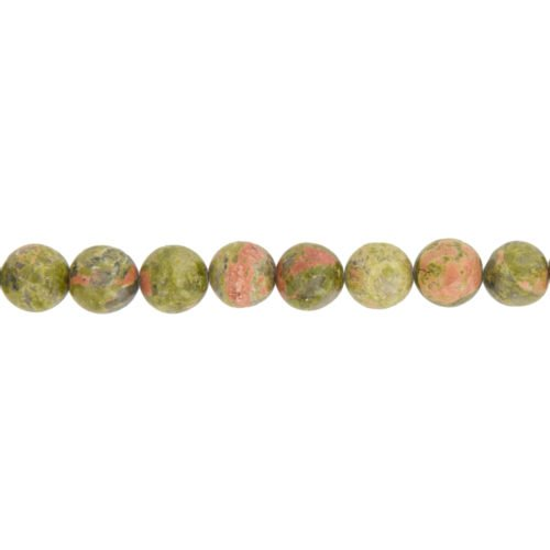 Unakite Line - 12 mm Bead