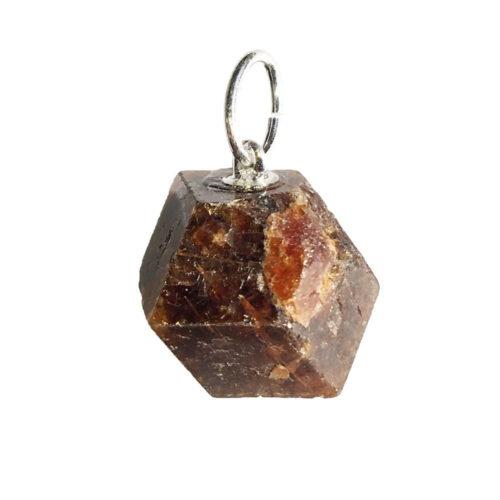 Garnet Pendant - Raw Stone