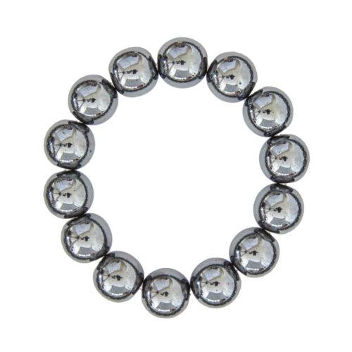 Haematite Bracelet - 14 mm Bead