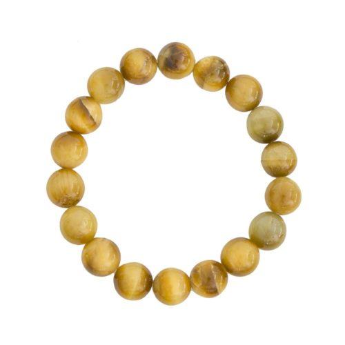Golden Tiger's Eye Bracelet - 10 mm Bead