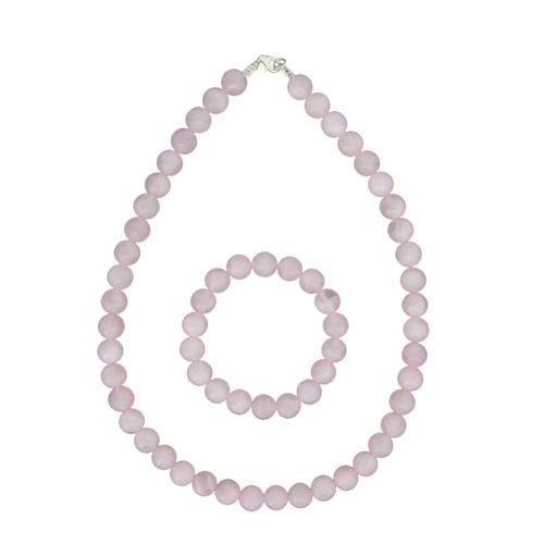 Rose Quartz Gift Set - 10 mm Bead
