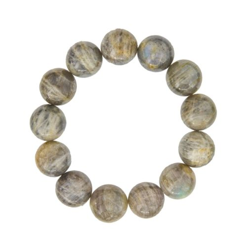 Labradorite Bracelet - 14 mm Bead