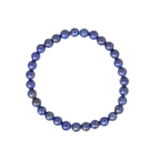 Lapis Lazuli Bracelet - 6 mm Bead
