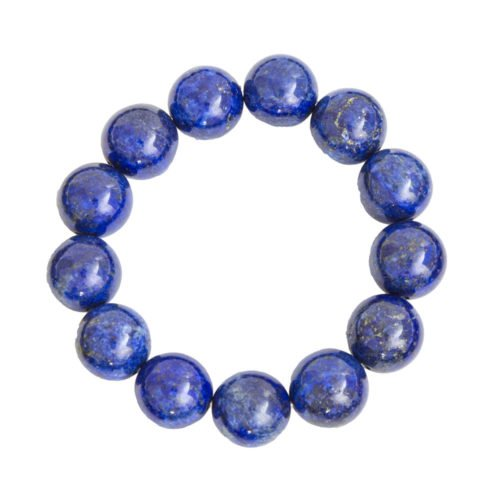 Lapis Lazuli Bracelet - 14 mm Bead
