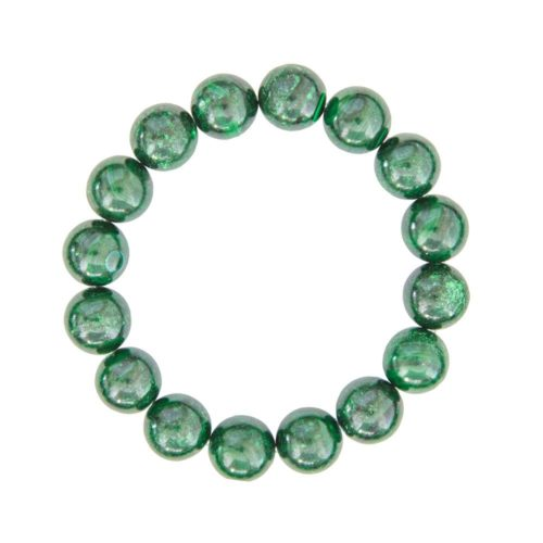 Malachite Bracelet - 12 mm Bead