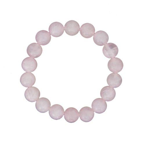 Rose Quartz Bracelet - 10 mm Bead