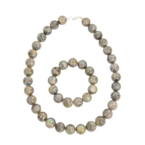 Labradorite Gift Set - 14 mm Bead