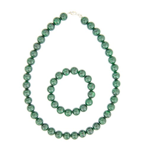 Malachite Gift Set - 12 mm Bead
